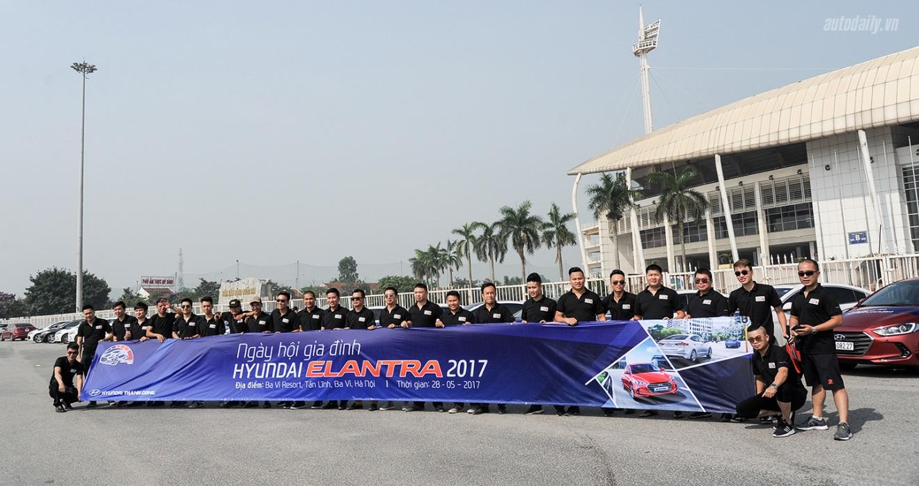 9 ngàn thành viên CLB HYUNDAI ELANTRA tổ chức offline.